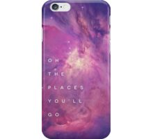 The Places You'll Go II iPhone Case/Skin