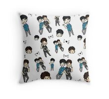 Dan & Phil - Collage Throw Pillow