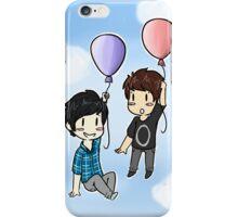 Dan & Phil design 2 - Clouds iPhone Case/Skin