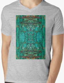 Aya Forest Mens V-Neck T-Shirt