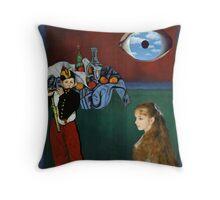Rothko, Cezanne, Manet, Magritte, Renoir Throw Pillow