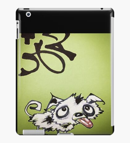 Emerald Ink Puppy iPad Case/Skin