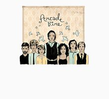 Arcade Fire Illustration Women's Fitted Scoop T-Shirt