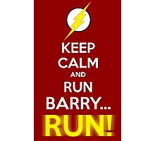 RUN BARRY RUN! Photographic Print
