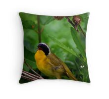 Common YellowThroat Warbler 7 Throw Pillow