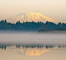 Mt. St. Helens reflection by Carl LaCasse