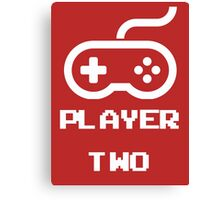 Player Two Canvas Print