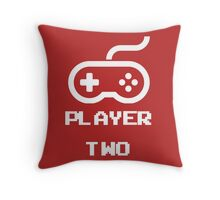 Player Two Throw Pillow