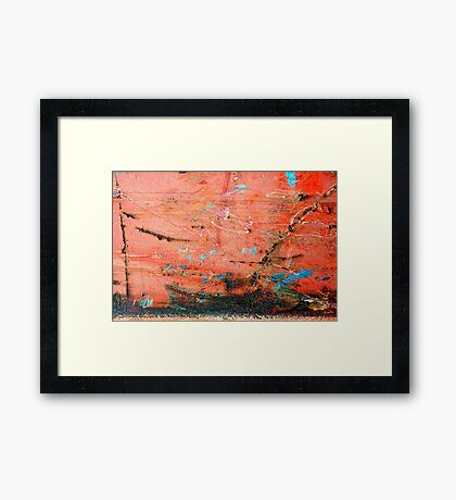 Slow boat to China Framed Print