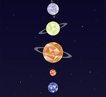Planets by Dorothy Timmer