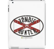 Zombie Hunter flag iPad Case/Skin