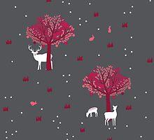A Walk in the Forest by Corinna Djaferis