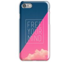 Free Your Mind III iPhone Case/Skin