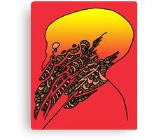 Eldritch Sunset  Canvas Print