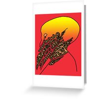 Eldritch Sunset  Greeting Card