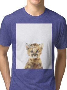 Little Mountain Lion Tri-blend T-Shirt