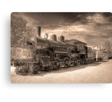 Engine 2645 (Sepia) Canvas Print