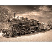 Engine 2645 (Sepia) Photographic Print