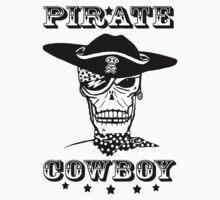 'Cowboy Pirate' Kids Tee