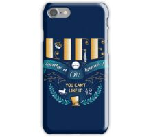 Marvin On Life iPhone Case/Skin