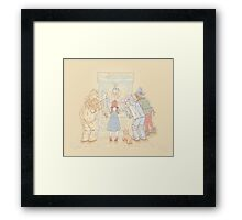 There's No Prize Like Home Framed Print