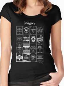 Tea Time with Ramona Flowers Women's Fitted Scoop T-Shirt