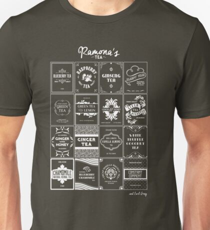 Tea Time with Ramona Flowers Unisex T-Shirt