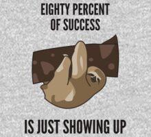 Success Sloth Slogan - Funny Kids Tee