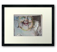 """""""Happy Hollywood Buddah"""" Framed Print"""