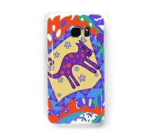 """Leaping Lion""  Samsung Galaxy Case/Skin"