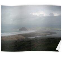 Morro Bay Mist Poster