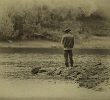 Gone fishing by inkedsandra