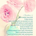 faith hope love 1 corinthians 13 by aquaarte