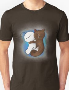 Kitty and Cry cuddling T-Shirt