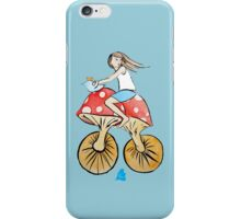 Mushroom Bicycle iPhone Case/Skin