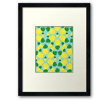 Summer - pineapples Framed Print