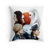 Let Us Be Strong Throw Pillow