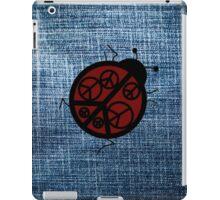 red peace ladybug iPad Case/Skin