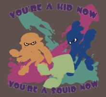 You're a Kid Now, You're a Squid Now! Kids Clothes