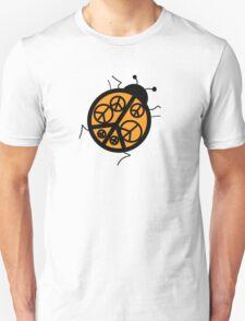 orange peace ladybug T-Shirt