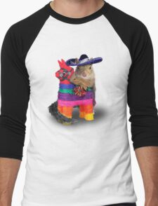 Mexican Squirrel Men's Baseball ¾ T-Shirt