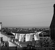 Drying day by Christopher Ware