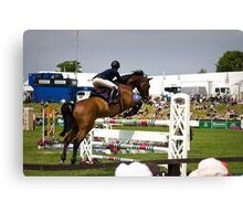 Show Jumper. The BBC. Canvas Print