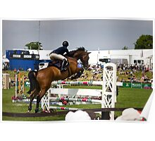Show Jumper. The BBC. Poster