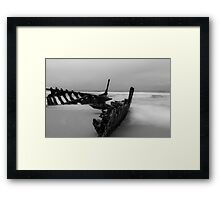 The Dicky Wreck at Caloundra -Queensland Australia Framed Print