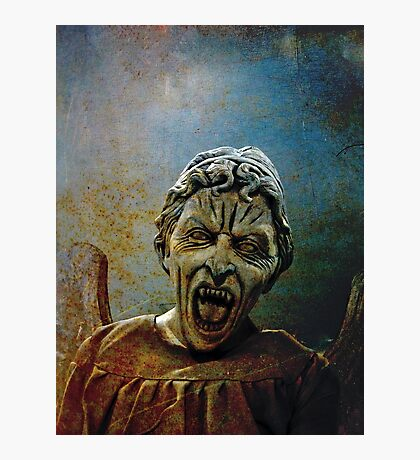 The Lonely assassin or weeping Angel Photographic Print