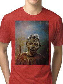 The Lonely assassin or weeping Angel Tri-blend T-Shirt