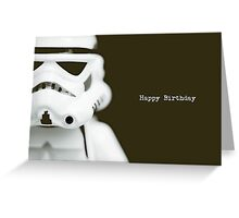 Trooper birthday card Greeting Card