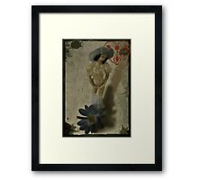 Your Love Is Safe In My Heart-COLLABORATION WITH ARTIST JD Framed Print