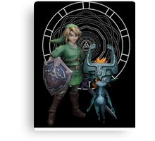 The Legend of Link and the Twilight Princess Canvas Print